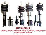 Fbx-r-mit-18 1995-1997 Mitsubishi Carisma Rear Air Suspension Ride Kit