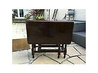 Original vintage oak gateleg table CHEAP
