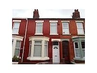 Rooms to rent in student 4 bed house Liverpool city centre whitland road Fairfield