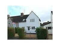 For Sale an updated 3 bed semi in Cirencester, close to good schools and amenities