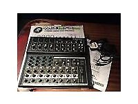 12 Channel Compact Mixer & Ultragaph Pro FBQ3102 (new still in boxes)