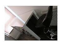 ikea TORESUND bar table white/high gloss 70x140cm