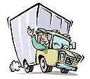Long distance deliveries truck, delivering around Nova Scotia.