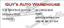 Guy's Auto Warehouse