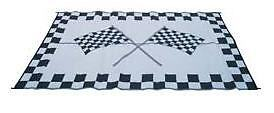 NEW 9' x 12' Racing Patio Mat for RV / Camper / Travel Trailer / Motorhome