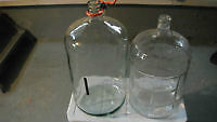 Two Glass carboys - WINE OR BEER MAKING BOTTLE JUG
