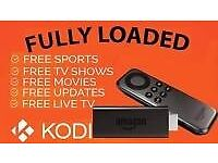 Amazon Fire Stick with Kodi 16.1 Fully-Loaded✔️Sports✔️Movies✔️TV✔️Kids✔️Adult