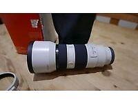 Sony Alpha f4 70-200 lens