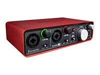 Scarlett focus rite 2i2 audio interface