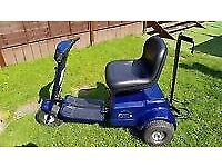 patterson trio golf buggy blue