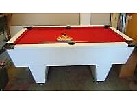 Club Slate Bed Pool Table 6ftx3ft