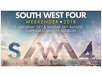 3 X SUNDAY SW4 TICKETS