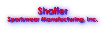 Shaffer Sportswear Mfg