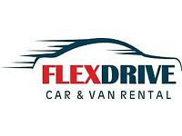 FLEX -DRIVE CAR AND VAN HIRE PROVIDING VAN FOR COURIERS (INC COURIER INSURANCE)