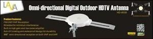 Digital Outdoor HD TV Antenna - OMNIPRO - New*