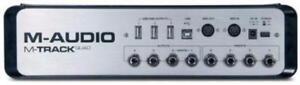 NEUF* M-AUDIO M-TRACK QUAD - Carte De Son - Audio Interface *