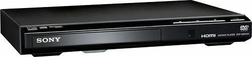 Sony DVD Player with HD Upconversion Black DVPSR510H