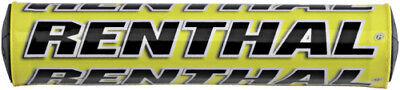 "Renthal SX Bar Pad -YELLOW- Crossbar Pad -10""- High Density Foam MX Offroad Moto"