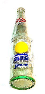 70s Dr. Pepper San Diego California Best City Soda Pop Bottle Ex Coke Pepsi Ofr