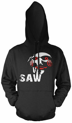 Jigsaw Kapuzenpullover | Halloween SAW Horror Kostüm Puppe Clown | - Jigsaw Saw Kostüm