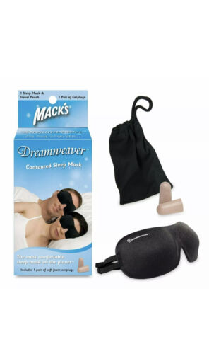 Mack's Dreamweaver Contoured Sleep Mask - Comfortable, Adjus