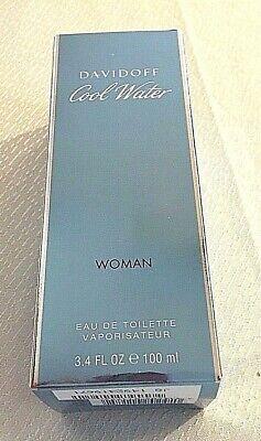 Davidoff Cool Water Woman Eau de Toilette Vaporisateur 3.4 oz Brand New in