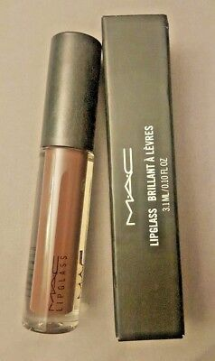 MAC Lipglass~CHESTNUT~Warm Brown -Rare-VHTF! Discontinued BNIB ~LOW GLOBAL SHIP! for sale  Shipping to India