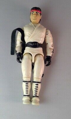 """1993 GI Joe Street Fighter Ryu White Outfit 3.75"""" action figure #1 for sale  Shipping to India"""