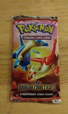 Pokemon TCG EX Dragon Frontiers FACTORY SEALED 9 Card Booster Pack