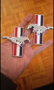 Ford Mustang running horse emblems available