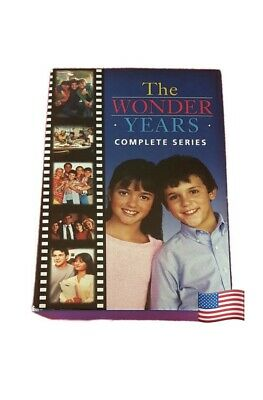 THE WONDER YEARS COMPLETE SERIES (DVD, 22-Disc Box Set) SAME DAY SHIP