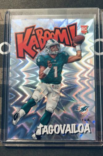 Tua Tagovailo 2020 Panini Absolute KABOOM SP/SSP Rookie RC *CASE HIT* K-TT1