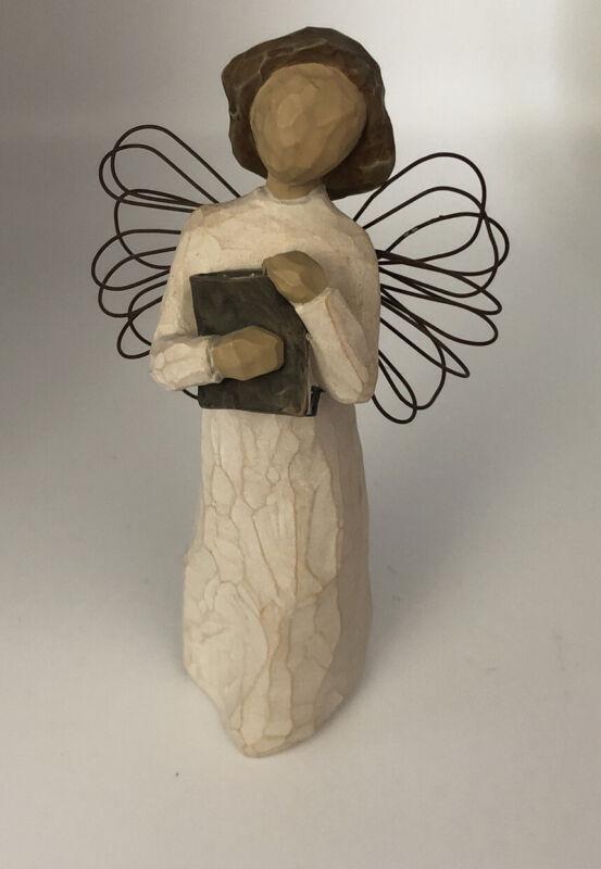 Willow Tree. Angel of Learning. Book. 1999 Demdaco Susan Lordi. Vintage.