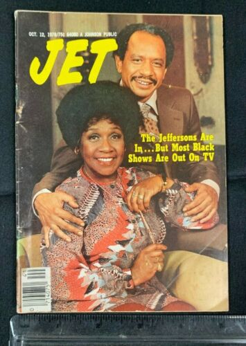 """1978 OCT 12 *JET* MAGAZINE """"THE JEFFERSONS BUT MOST BLACK SHOWS ARE OUT"""" 7720"""