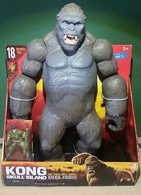 "King Kong Skull Island Mega Figure 18"" Walmart Exclusive"