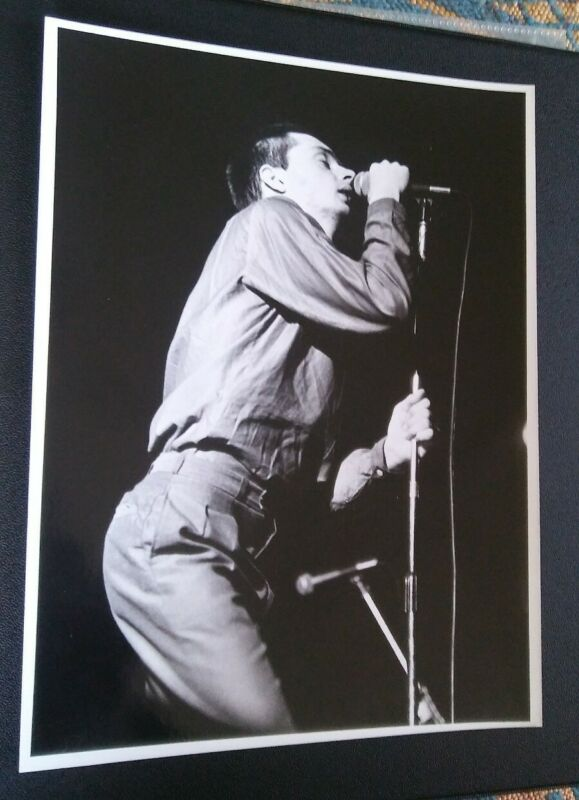 JOY DIVISION IAN CURTIS Vintage ORIGINAL Photograph closer unknown pleasures