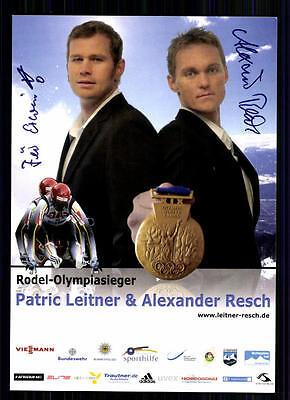 Alexander Resch Autogrammkarte Original Signiert TOP Rodeln +A 74188
