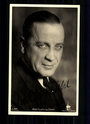 Karl Ludwig Diehl Ross Verlag Autogrammkarte Original Signiert TOP## BC 1215
