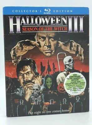 Halloween 3: Season of the Witch (Blu-ray, 2012; Scream Factory Collector's Ed)](Halloween Movies 3 Witches)