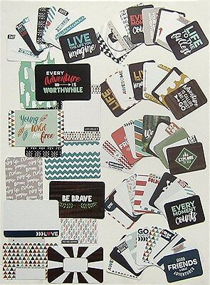Project Life  Becky Higgins    Explore   Core Kit Cards   75 Cards