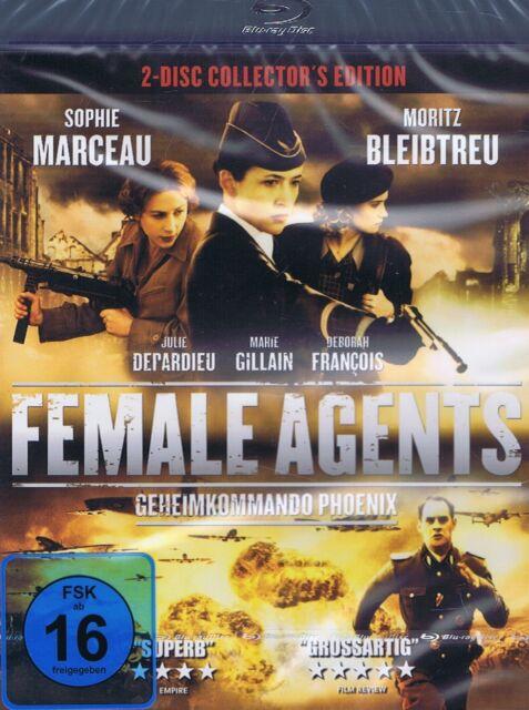 BLU-RAY NEU/OVP - Female Agents - Geheimkommando Phoenix - Sophie Marceau