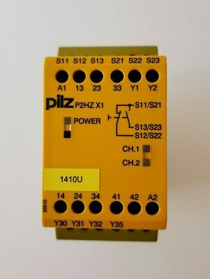 Pilz P2hz X1 Safety Relay - Used Free Shipping