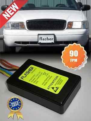 12V Wig Wag Car Alternating Headlight Flasher 90FPM