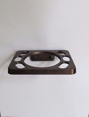 Oil Rubbed Bronze Wall Mount Dainty Toothbrush Cup Holder RV Marine Motor Home ()