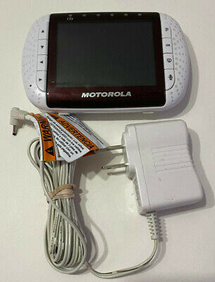 Motorola Baby Monitor MBP36 Parent Unit Only #989 - NO Battery