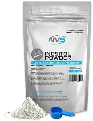 2.2lb (1000g) NVS 100% PURE INOSITOL POWDER