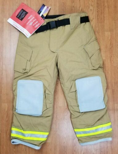 Cairns MFG. 2014 NEW Firefighter Turnout Bunker Pants 46 x 30