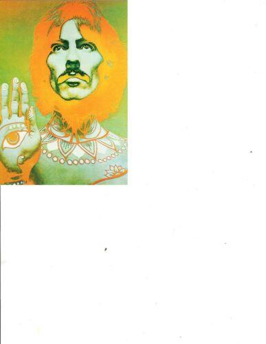 Three BEATLES / RICHARD AVEDON Ca. 1991 Reprinted PSYCHEDELIC PHOTO POSTCARDS