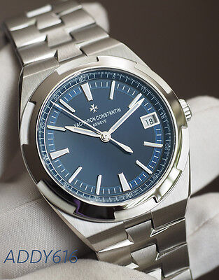 VACHERON CONSTANTIN Overseas Blue Dial Automatic Men's Watch  4500V/110A-B128