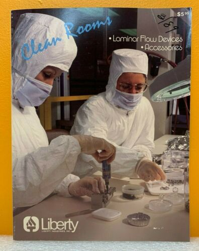 Liberty Industries, Inc. Clean Rooms & Accessories Catalog.